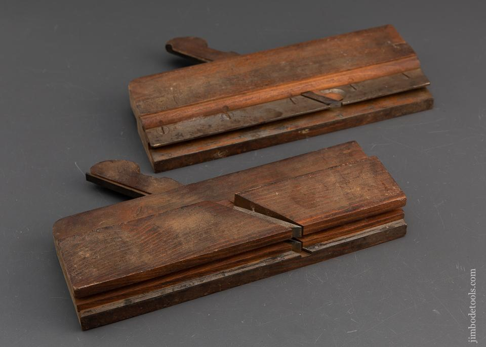 Crisp 3/4 inch Tongue & Groove Planes by C.F. BULKLEY & CO 1836-60 Saybrook CT - 94271