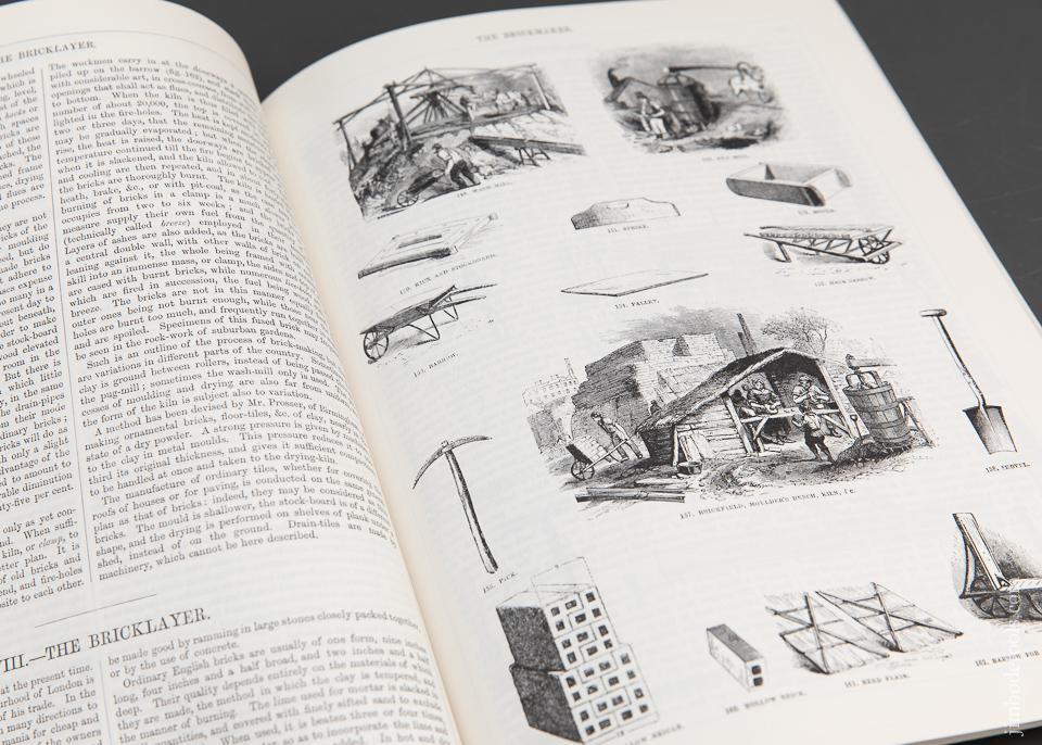 Book: ILLUSTRATIONS OF TRADES by Charles Tomlinson EAIA - 94357
