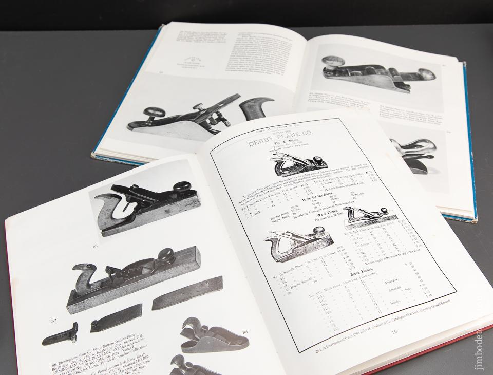 PTAMPIA Book Set:  PATENTED TRANSITIONAL & METALLIC PLANES IN AMERICA VOLUMES I & II by Roger K. Smith - 94366