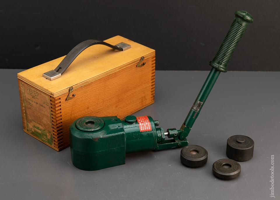 Near Mint! FELCO Miniature Precision Ten Ton Jack in Original Box - 94371