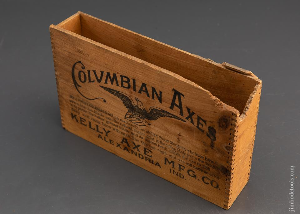 KELLY COLUMBIAN AXES Wooden Axe Box - 94416