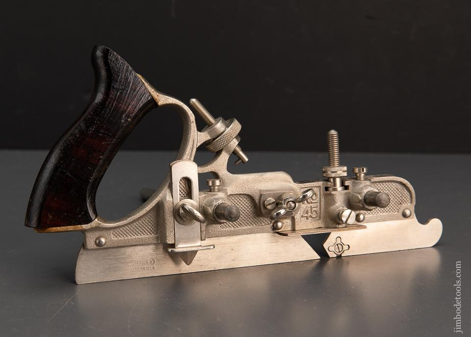 Near Mint STANLEY No. 45 Combination Plane - 94538