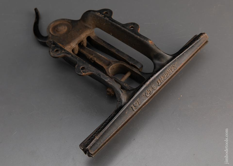 SARGENT NO. 151 Saw Vise WENTWORTH'S PATENT Fine - 94549
