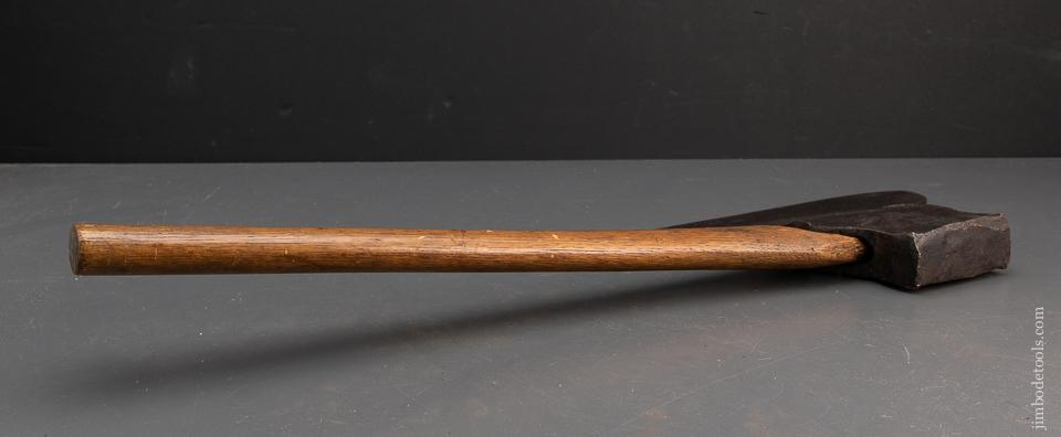 Excellent Single Bevel Offset Broad Axe by HUBER & CO. - 94557