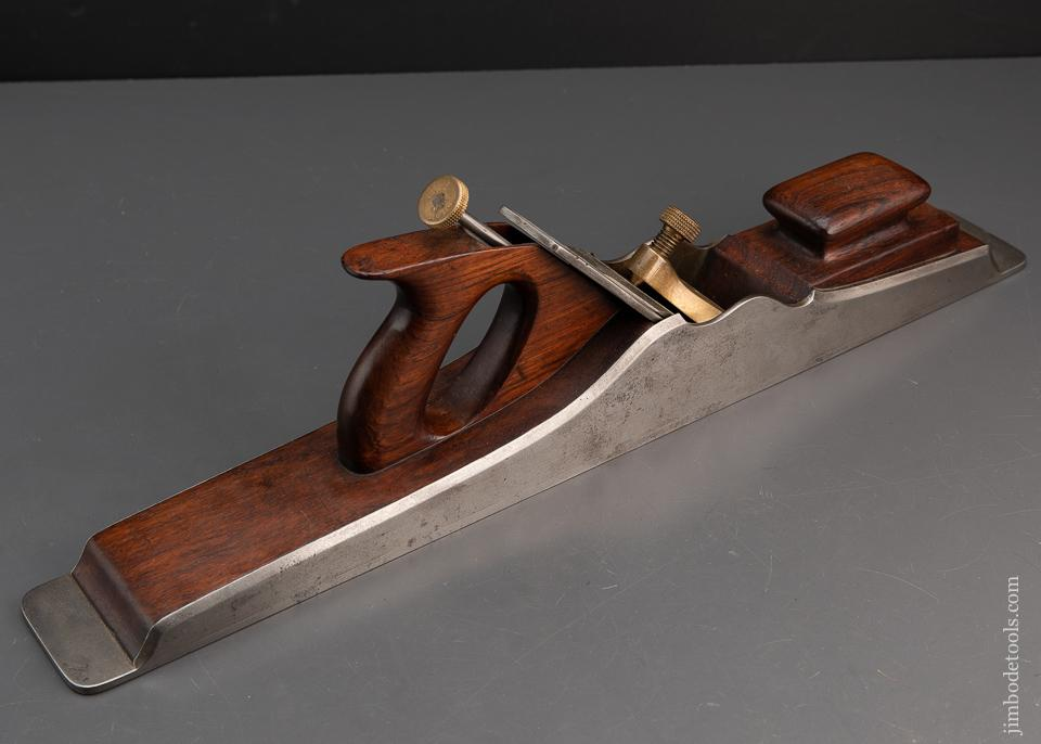 RARE 22 1/2 inch NORRIS A1 Jointer Plane in Rosewood and Dovetailed Steel PRE-WAR - 94618