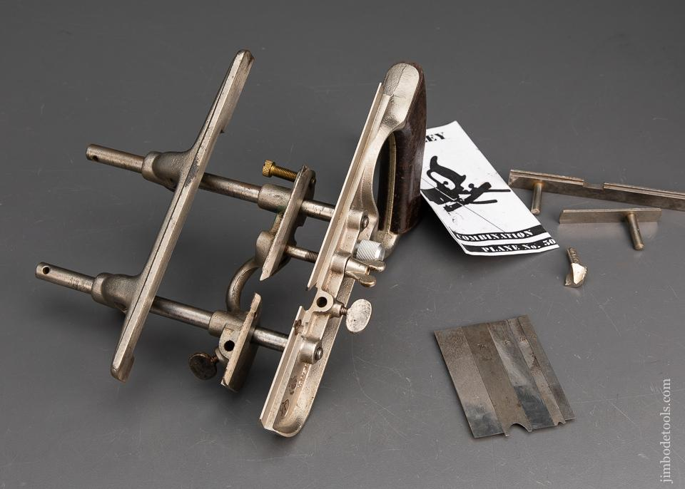 Great User STANLEY No. 50 Combination Plane - 94636