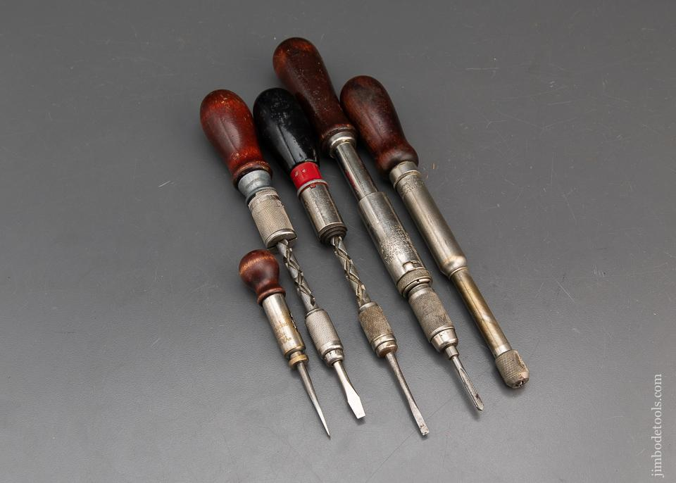 5 Spiral Screwdrivers - 94745