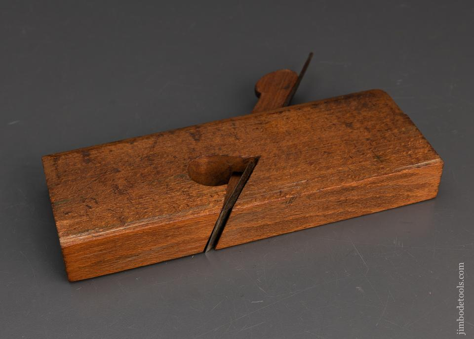 Fine 1 1/4 inch Skewed Rabbet Plane by NURSE & CO. - 94804