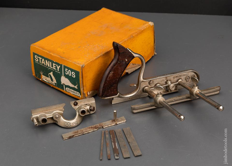 STANLEY No. 50S Plow Plane in its Original Box - 95088