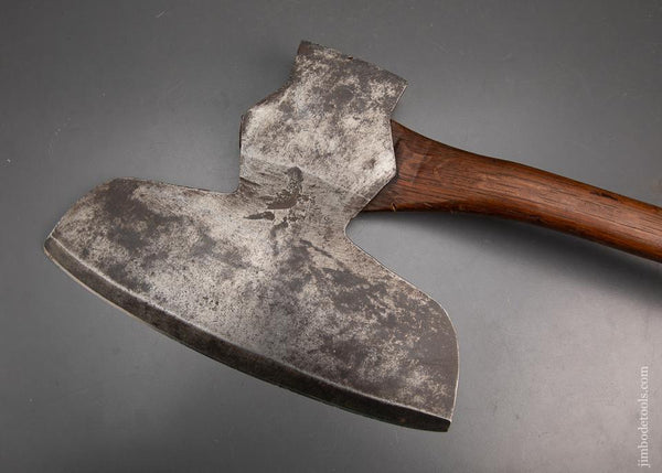 Really Fine Offset Single Bevel Broad Axe by C.M. TAYLOR & CO. - 95181