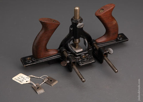 STANLEY No.171 Router Plane with All 3 Cutters and Fence - 95184