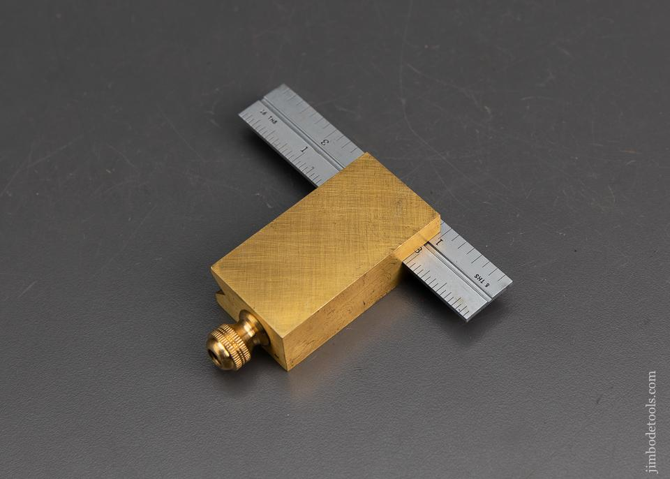 Heavy Brass Double Square 4 inch - 95198