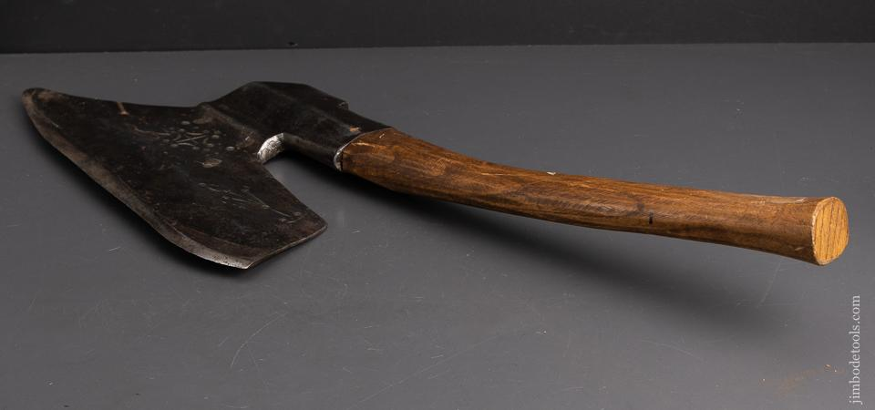 A Beauty of a Decorated Goosewing Axe - 95234
