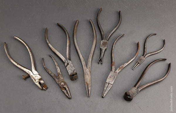 Great Lot of Early Mini Pliers - 95252