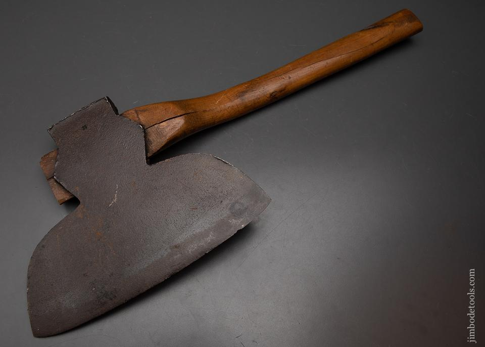 Good Clean Offset Single Bevel Broad Axe by YERKS & PLUMB - 95273