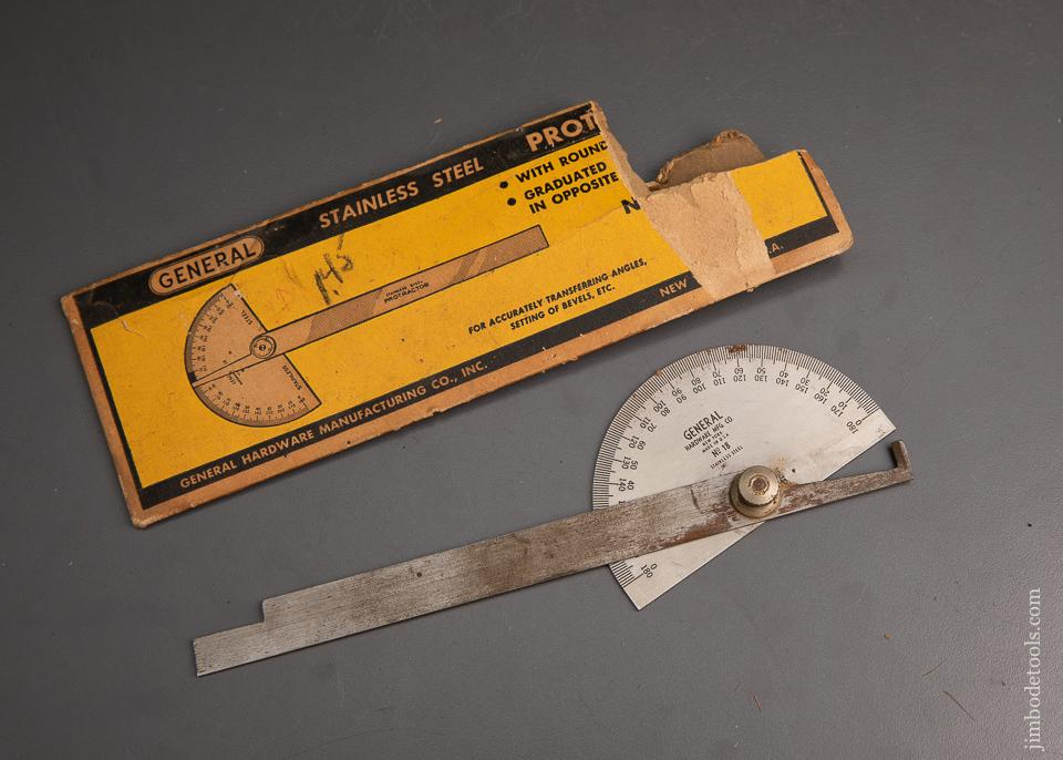 GENERAL HARDWARE Stainless Steel Protractor - 95283