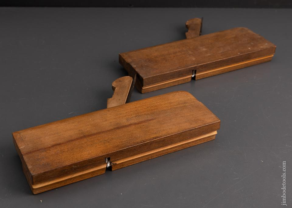 Crisp Pair of Side Bead Moulding Planes by GRIFFITHS - 95571