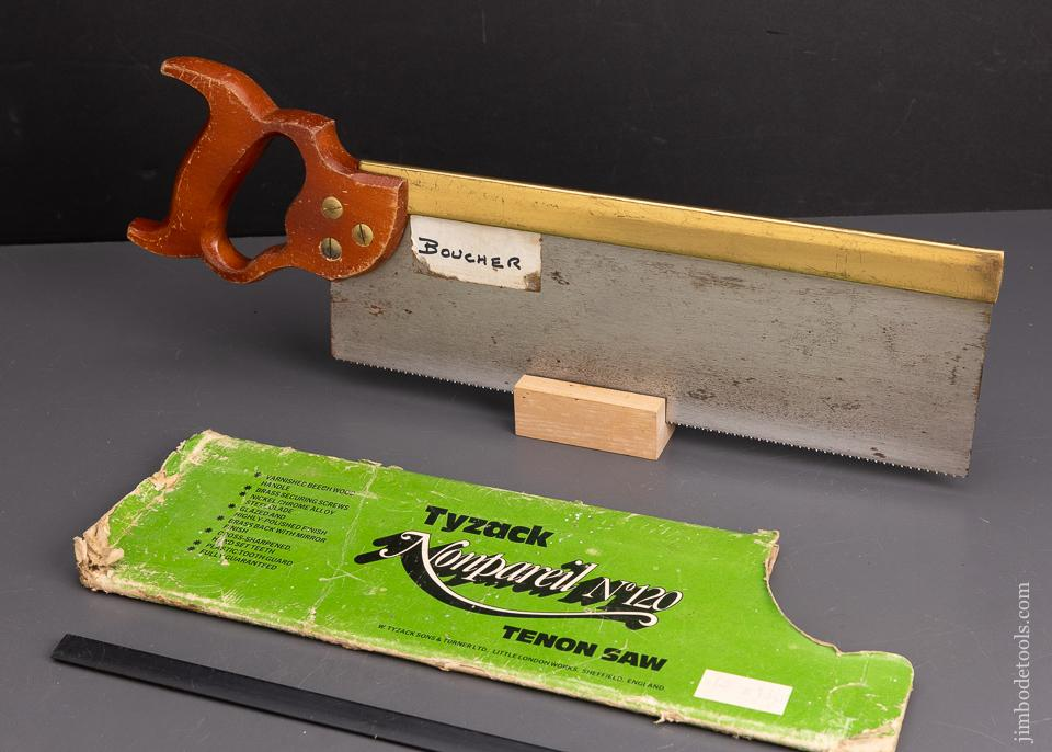 Extra Fine TYZACK Brass Back Tenon Saw - 95583