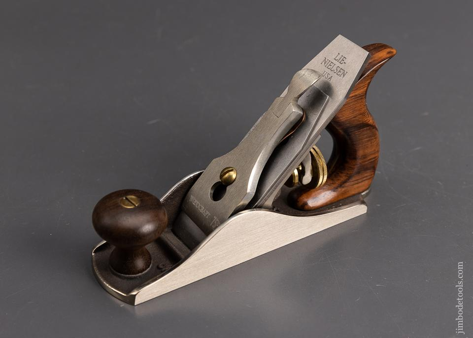 Mint LIE-NIELSEN No. 1 Smooth Plane with Bronze and Cocobolo - EXCELSIOR 95648