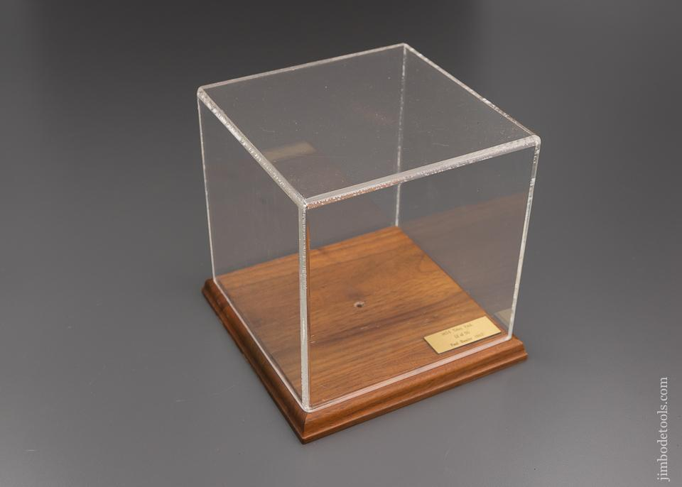 Paul Hamler Display Case for TIDEY PATENT Beveling Plane Miniature - 96057