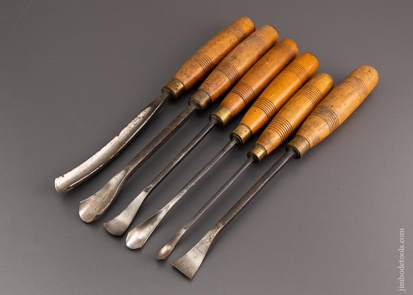 Extra Fine Graduated Set of ADDIS Spoon Gouges - 96477