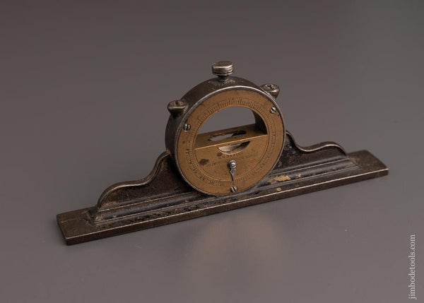 Clean LL DAVIS PATENT Mantle Clock Inclinometer Level - 96568
