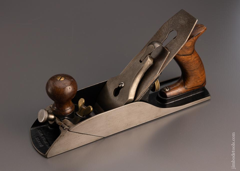 Very Rare and Near Mint 1893 HARDT PATENT Split Frame Smooth Plane - 97706