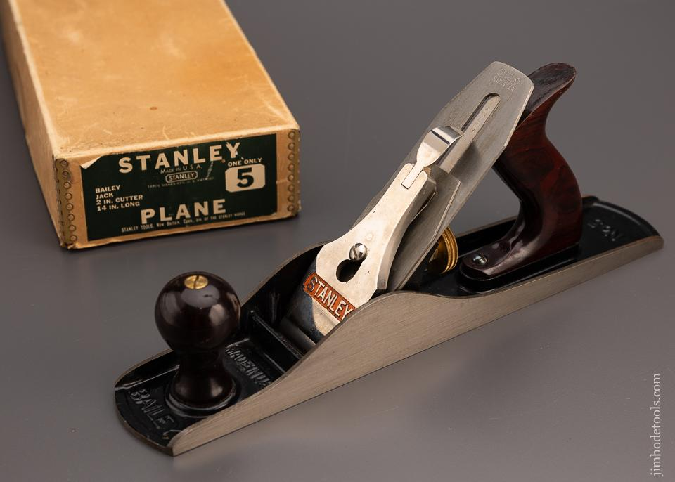 STANLEY No. 5 Mint in Box Jack Plane - 97823