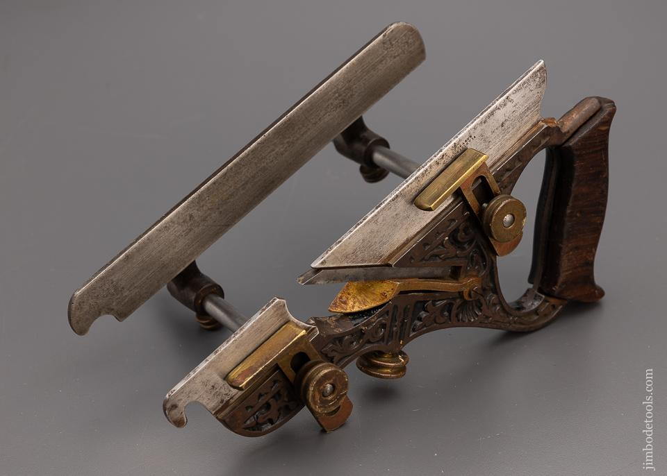 STANLEY MILLERS PATENT No. 43 Ornate Plow Plane - 97830