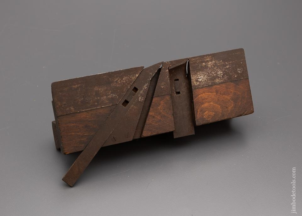 Very Unusual Double Iron Moulding Plane - 98029