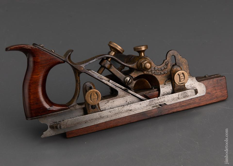 Extra Fine! MAYO September 14, 1875 Patent Plow Plane with One Iron - EXCELSIOR 94626