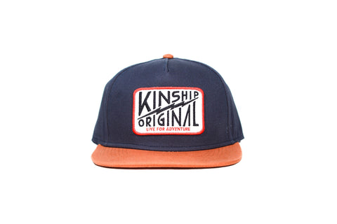 Basin Hat - Navy & Texas Orange