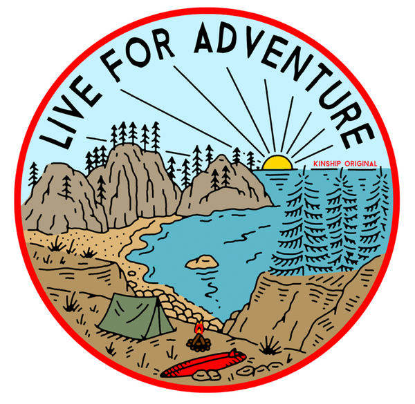 Campsite Sticker