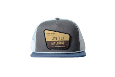 Ranger Trucker Hat Grey Steel and Slate Kinship Original