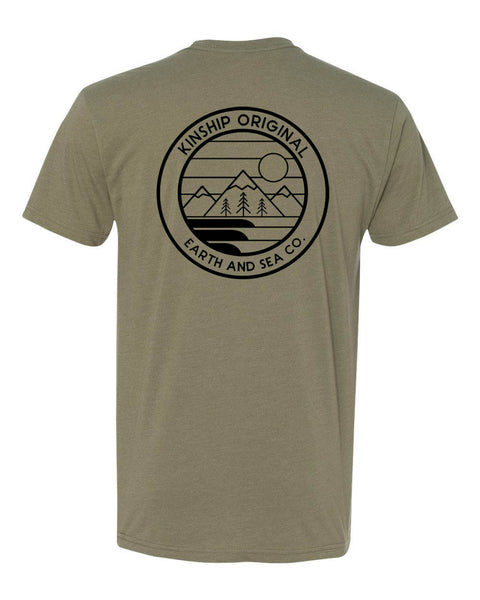 Pacific Tee - Light Olive