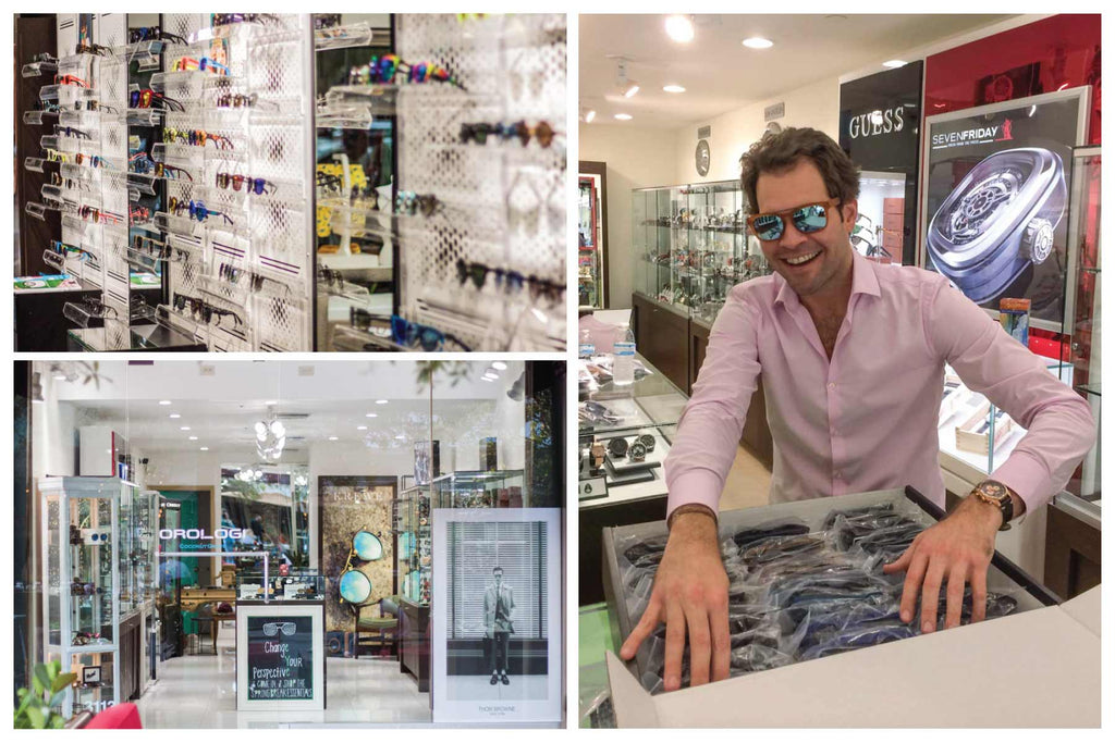 how to brothers built a successful eyewear shop