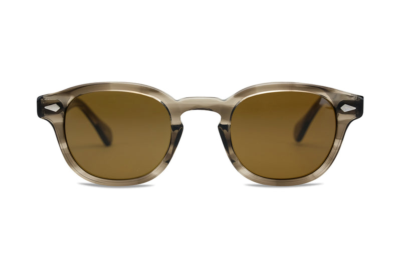 Moscot Lemtosh 49mm brown ash sunglasses