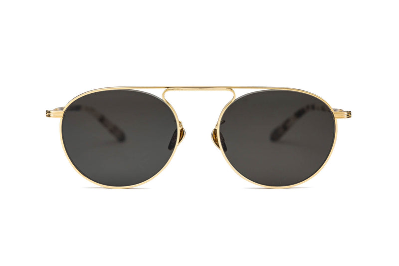 Krewe Rampart gold sunglasses