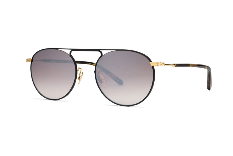 Krewe Rampart matte black sunglasses