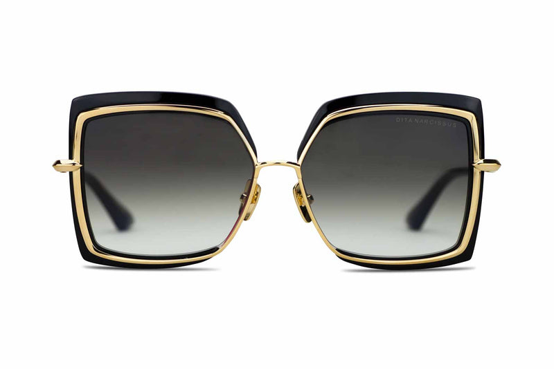 Dita Narcissus gold and black sunglasses
