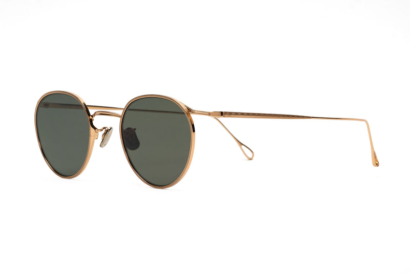 Eyevan 156(48) 901 antique gold sunglasses