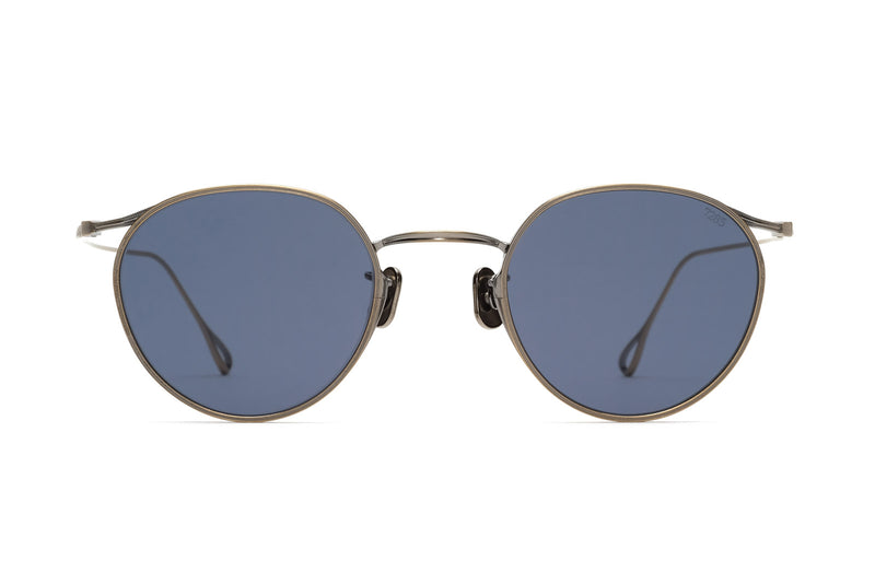 Eyevan 156(48) antique silver sunglasses