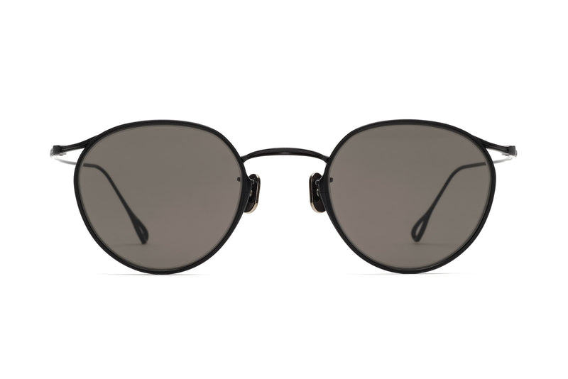 Eyevan 156(48) matte black sunglasses