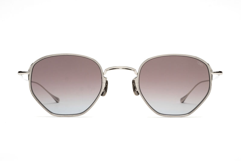 Eyevan 7285 784 901 silver purple sunglasses