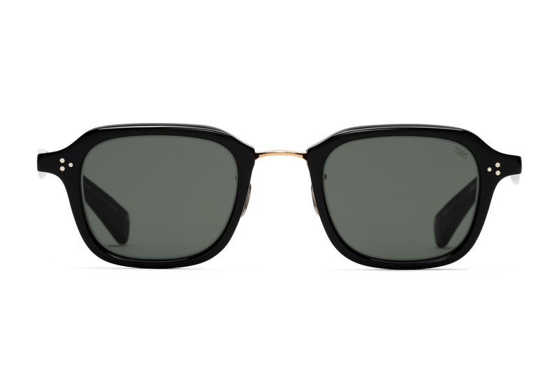 Eyevan 785 100 black gold sunglasses
