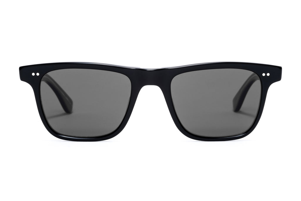 Garrett Leight Wavecrest Black Laminate Sunglasses