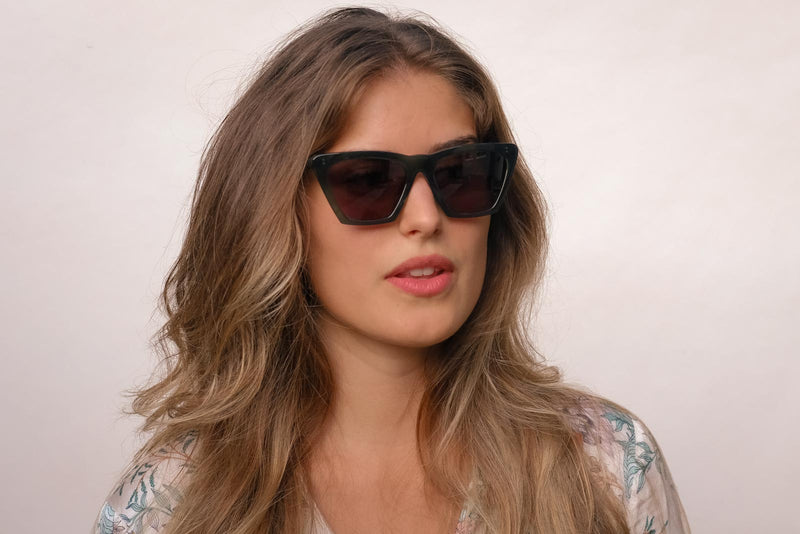 Illesteva lisbon green sunglasses miami