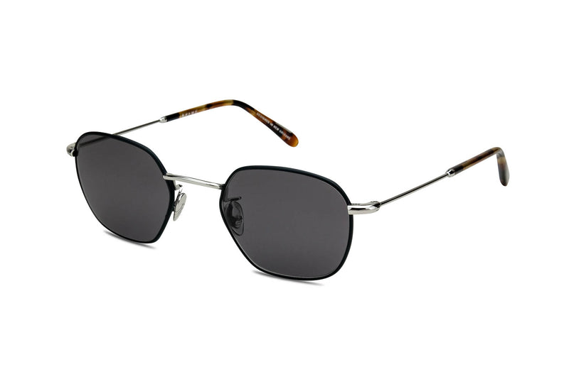 krewe ward matte black sunglasses miami