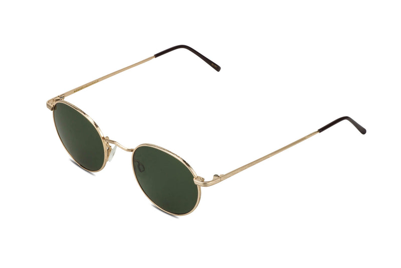 Moscot Dov Gold Sunglasses