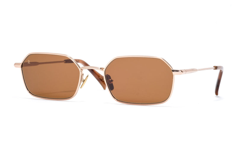Raen Hewes Summer Gold Sunglasses Miami